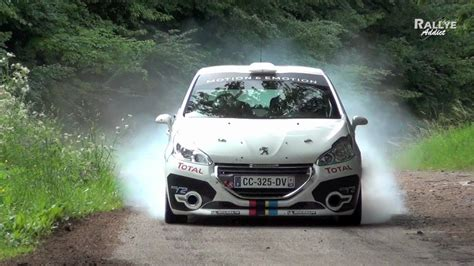 peugeot 208 r2 tests days hd rallye addict