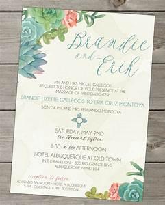22 gorgeous succulent wedding invitations mid south bride With wedding invitations with succulents