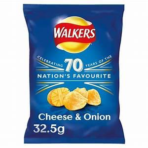 Walkers Cheese & Onion Crisps 32.5g - Bestway Wholesale