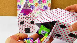 Kreative Ideen Zum Selbermachen : diy geschenk verpackung haus zum selber bef llen s igkeiten gutscheinen oder f r kinder ~ Markanthonyermac.com Haus und Dekorationen