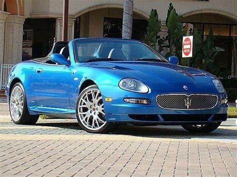 Purchase Used Maserati Spyder 90th Anniversary Cambiocorsa
