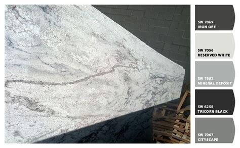 glacier white granite kitchens