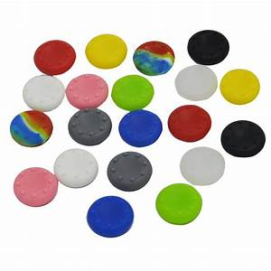 20 X Silicone Analog Controller Thumb Stick Grips Cap
