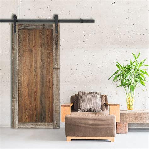porte de grange coulissante porte bois naturel espace bois