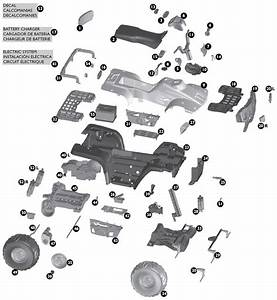 Peg Perego Polaris Sportsman 850 Twin Parts