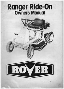 Rover Mower Spare Parts Manual