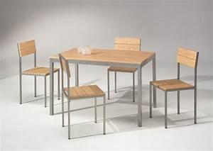 Table Et Chaise De Cuisine : table et chaise de cuisine but ~ Teatrodelosmanantiales.com Idées de Décoration