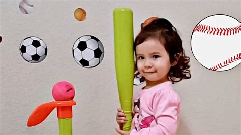 learn colors with sports balls toddlers t 305 | maxresdefault