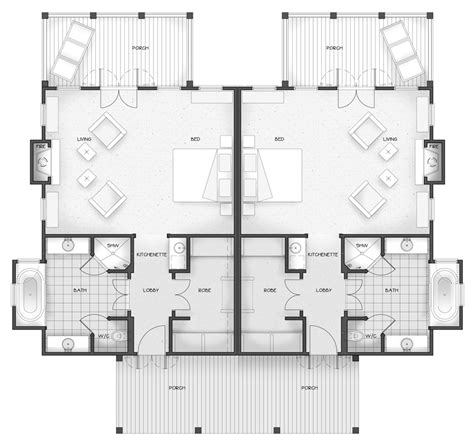 floor plans his and bathrooms his and her sinks in bathrooms his and her bathroom floor plans resort cottage plans