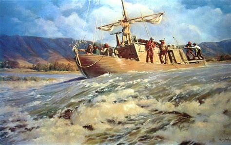 How To Draw A Keelboat by Lewis And Clark Bear Lake Rendezvous