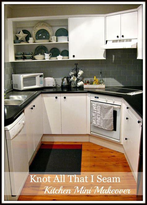all kitchen makeover knot all that i seam mini kitchen makeover open kitchen 4015
