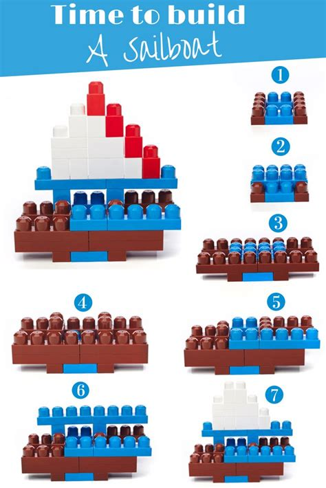 Lego Boat Step By Step by 28 Best Images About Mega Lego Block Patterns On