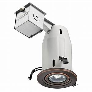 Lithonia lighting in oil rubbed bronze recessed