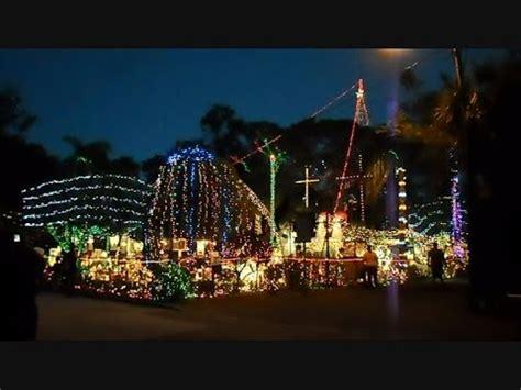 christmas lights st petersburg fl christmas light show the biggest in ta bay florida