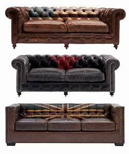Canapes et fauteuils cuir vintage chesterfield bar for Tapis exterieur avec canape chesterfield vintage