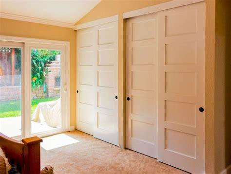 bypass closet doors cambridge bypass closet door maple