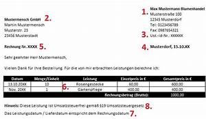 Rechnung Pflichtangaben : musterrechnung kleinunternehmer mit gratis excel rechnung ~ Themetempest.com Abrechnung