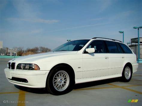 Alpine White 2002 Bmw 5 Series 525i Wagon Exterior Photo