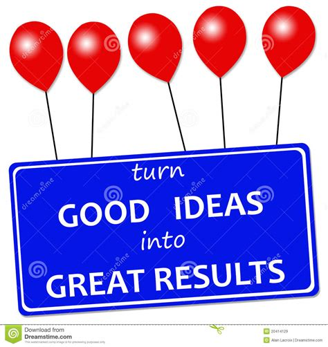 Good Ideas Royalty Free Stock Images  Image 20414129