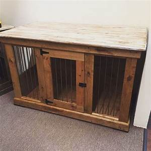 Handcrafted dog kennel and dog crate custom dog kennel for Wooden dog pens for inside