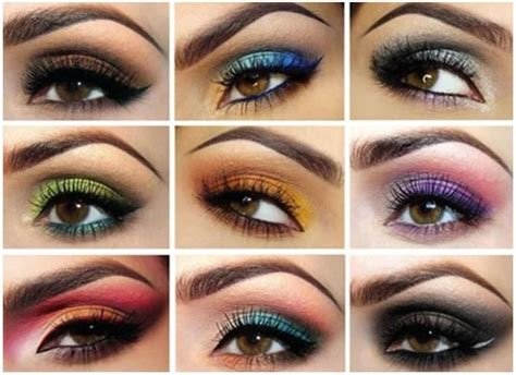 coloful eye makeup combinations pictures   images  facebook tumblr pinterest