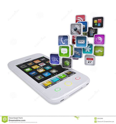 black modern smartphone with application icons on the 15 smartphone icon white images tripadvisor logo black
