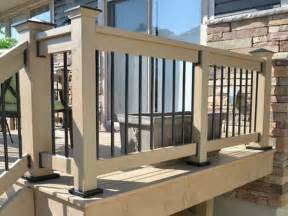 Deck Railing Post Height by Miscellaneous Deck Handrail Height Deck Handrail How To