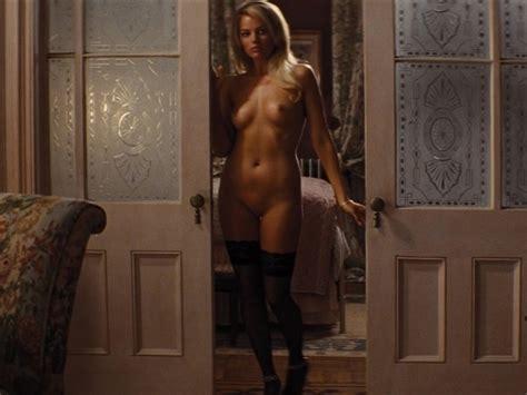 Margot Robbie Nude In Stockings