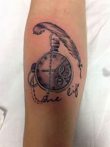 Tatouage Montre A Gousset Avant Bras : tatouage montre gousset notre top 20 du meilleur ~ Carolinahurricanesstore.com Idées de Décoration