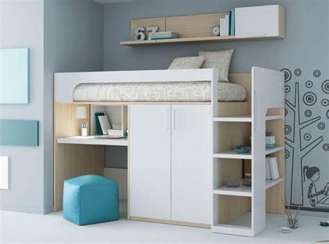 etag e bureau les 25 meilleures idées concernant lit mezzanine sur