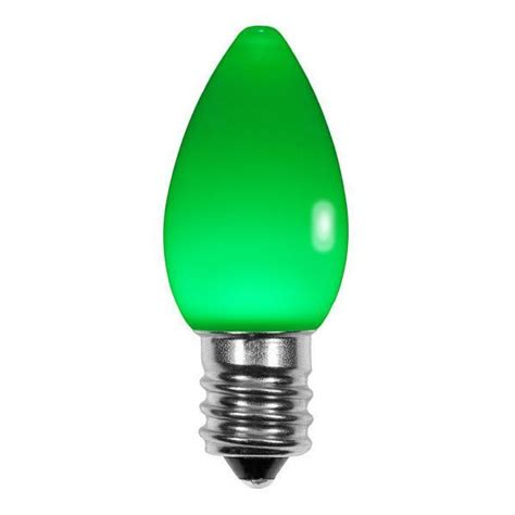 ceramic green c7 led light bulbs display sales