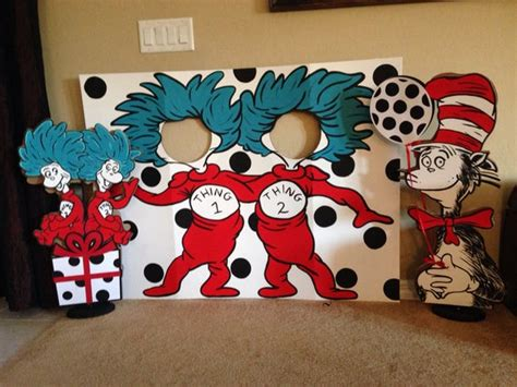 Thing One And Thing Two Decorations - let s be thing 1 and thing 2 photo prop