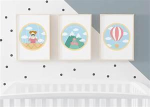 les affiches pour chambre de bebe et d39enfant d39anais heidi With affiche chambre bébé avec champs fleur