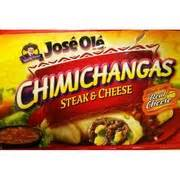 jose ole chimichangasbeef cheese  ct calories