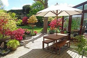 terrassen anlegen beispiele localmenuco With garten planen mit wetterfeste kunstpflanzen balkon