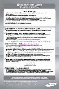 Offre De Remboursement : offre de remboursement odr samsung jusqu 70 sur ~ Carolinahurricanesstore.com Idées de Décoration