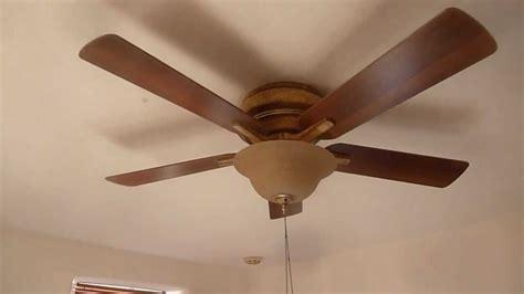 hton bay bay island hugger ceiling fan youtube