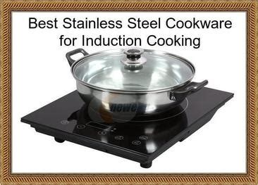 stainless steel cookware  induction cooking  stainless steel cookware