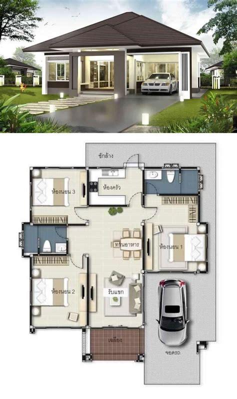 Home designer pro uses two file types: Three Bedroom House Plan and Design 2021 - hotelsrem.com