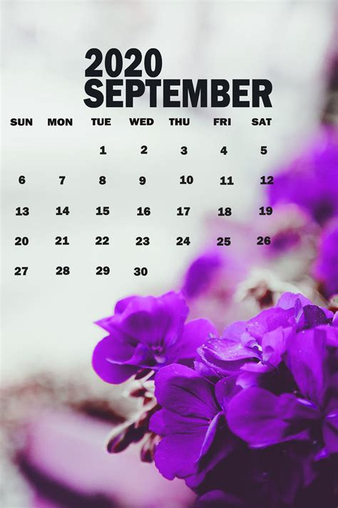 september  calendar wallpaper  desktop iphone