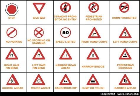 types  traffic signs    india quora