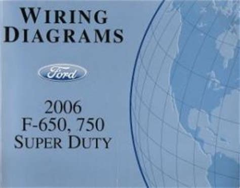 Ford 2006 F750 Truck Wiring Diagram Free by 2006 Ford F 650 F 750 Duty Wiring Diagrams