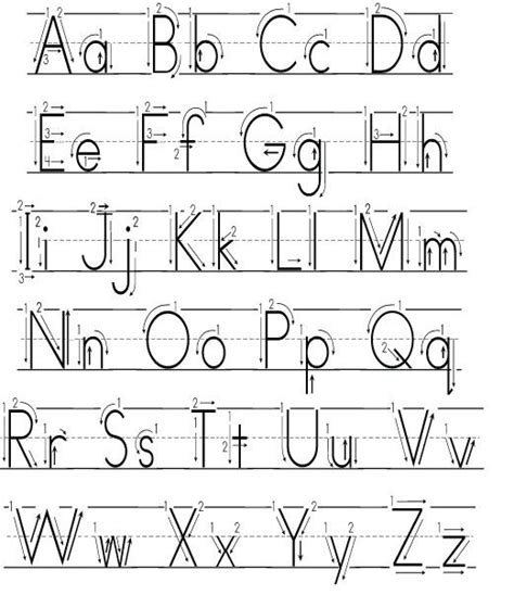 handwriting  kids teaching handwriting alphabet