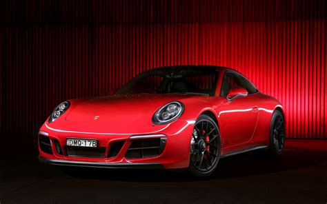 2017 Porsche 911 Carrera 4 Gts Coupe 4k Wallpapers Hd