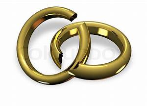broken wedding rings in divorce stock photo colourbox With who gets the wedding ring in a divorce