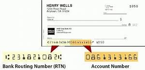 Wells Fargo Routing Number Ca