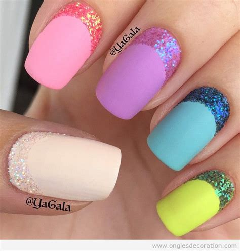 deco ongle gel facile deco des ongles nail nail ideas