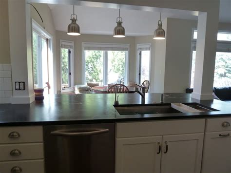 kitchen island post incorporate a support post into kitchen island kitchen remodel pinterest kitchens support