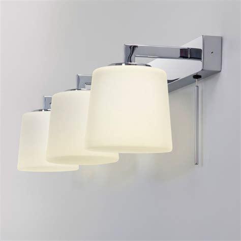 chrome bathroom light  mirror bathroom lighting