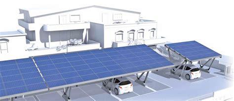 tettoie fotovoltaiche pensilina fotovoltaica per parcheggi a prezzi convenienti